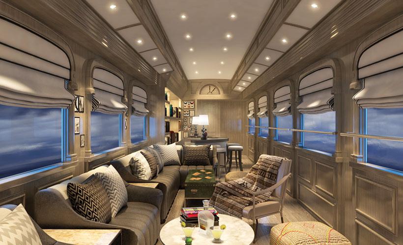 اولین قطار دستبافت لوکس دنیا