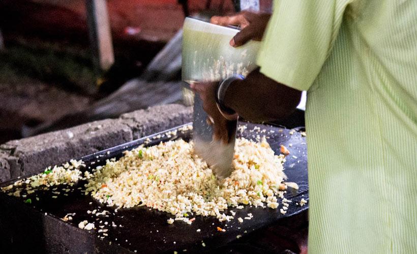 جیرینگ جیرینگ...!! صدای خوشمزه رستوران های خیابانی سری لانکا!!
