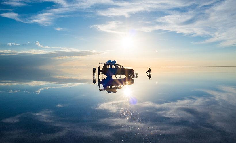 بزرگترین آیینه طبیعی دنیا
