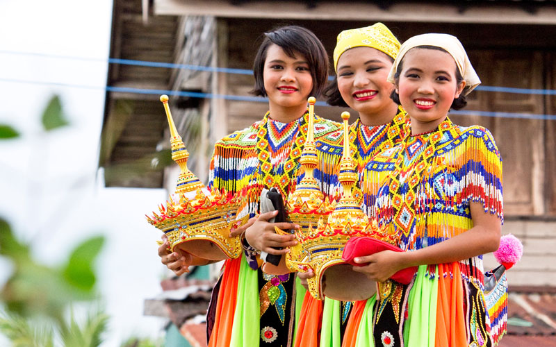 رسم و رسومات مردم تایلند