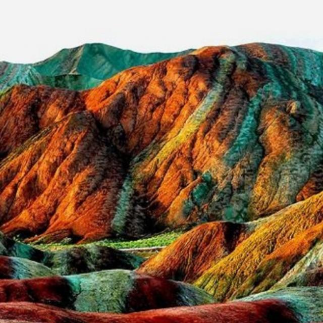 کوه های رنگی آلاداغلار تبریز