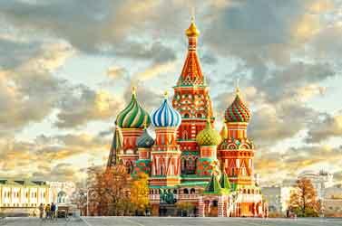 تور مسکو سنت پترزبورگ 17 شهریور 96