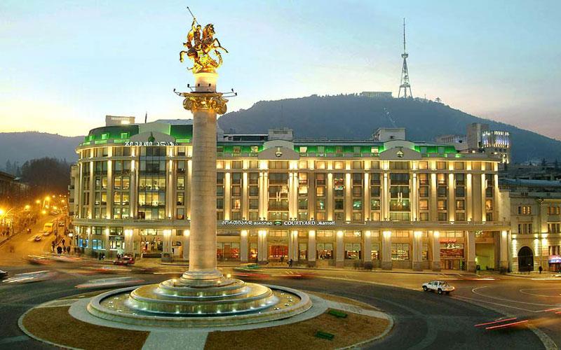 5 هتل برتر گرجستان