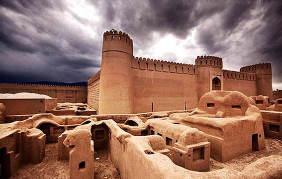 ارگ راین یکی از بزرگترین بناهای خشتی جهان در کرمان
