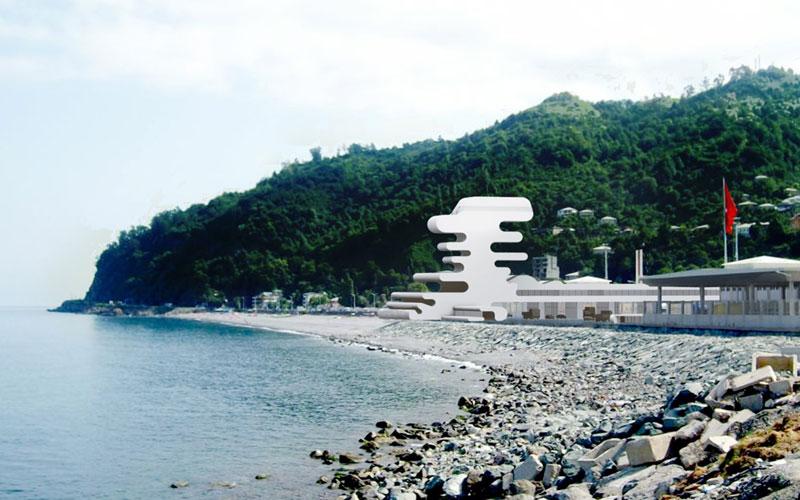 ساحل Sarpi گرجستان
