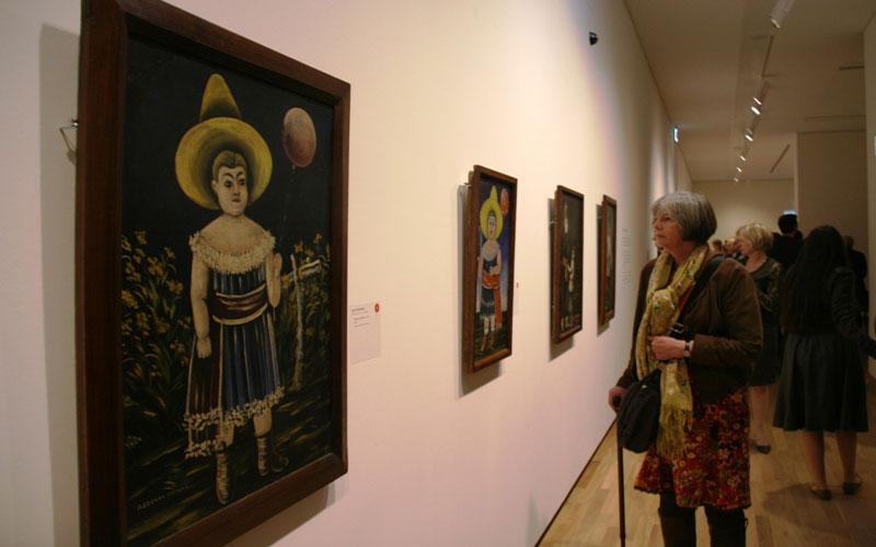 گالری ملی گرجستان، مجموعه ای از آثار شگفت انگیز هنرمندان