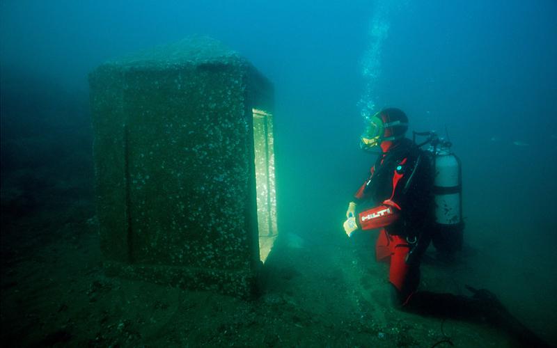 شهر افسانه ای زیر آبهای مدیترانه
