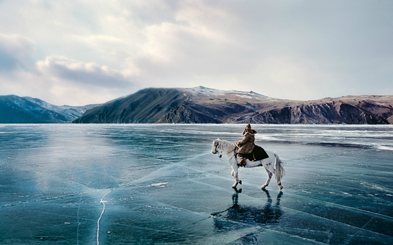 سرزمین هایی که در زمستان می درخشند!