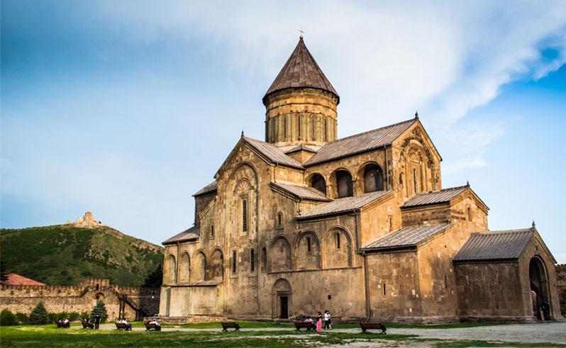 10مکان دیدنی شهر متسختا در گرجستان
