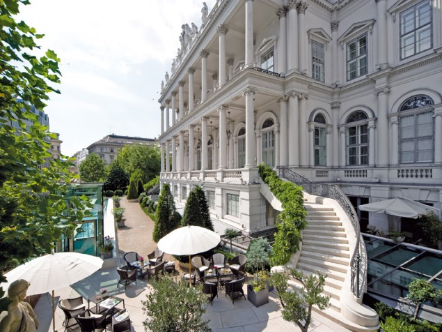 هتل پالاس کوبورگ رزیدنس اتریش