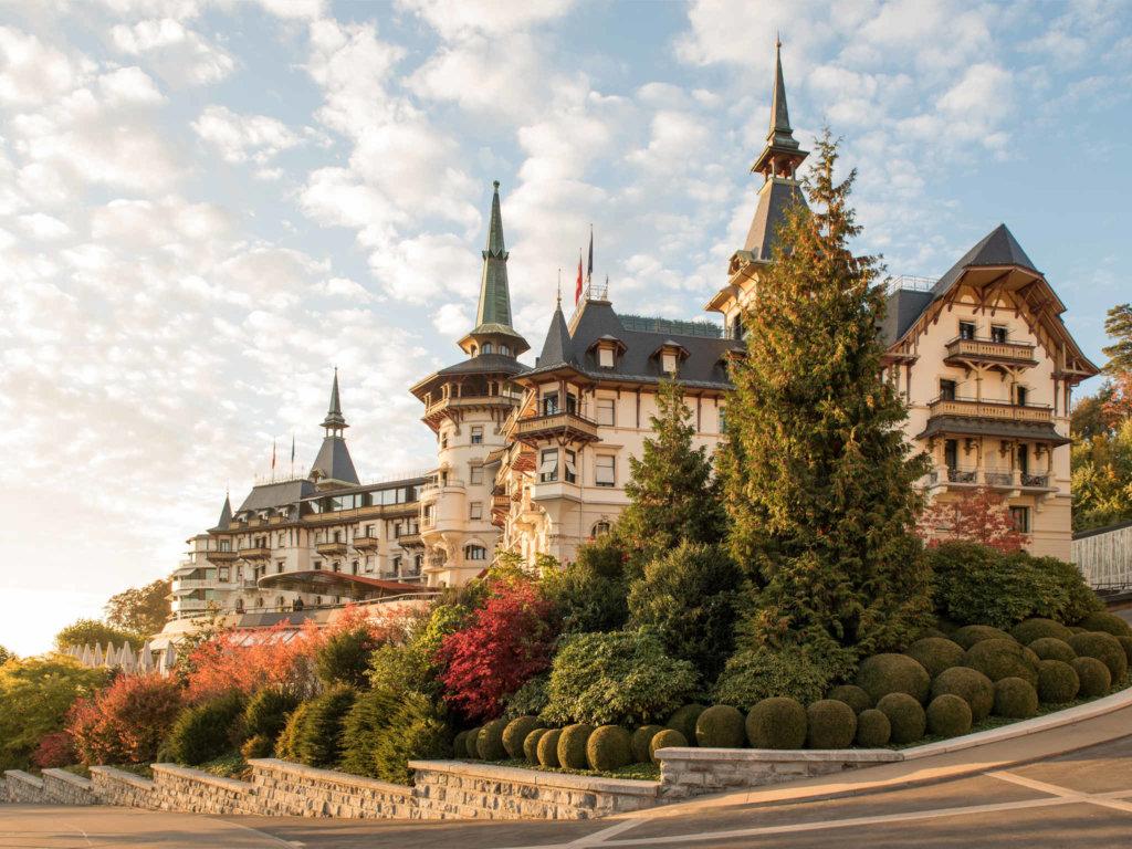 هتل د دولدر گرند سوئیس