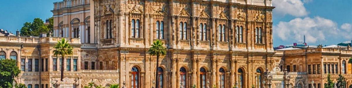 کاخ زیبا و دیدنی در شهر توریستی استانبول