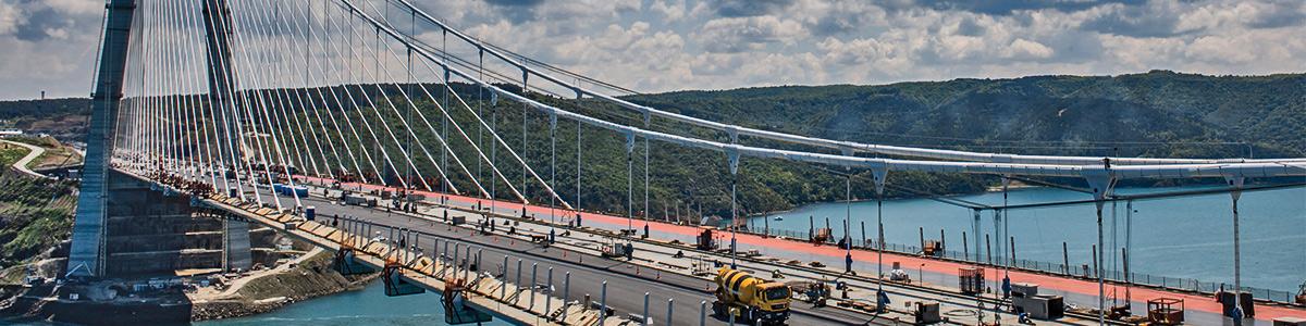 پلی زیبا و دیدنی در شهر توریستی استانبول