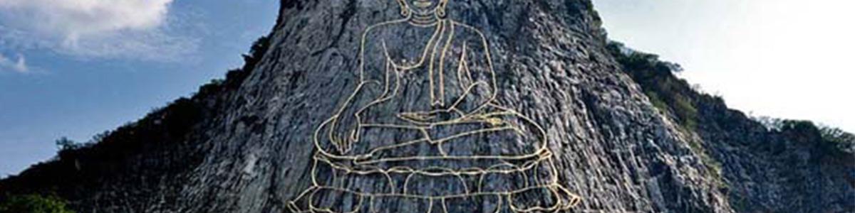 کوه زیبای بودا در تایلند