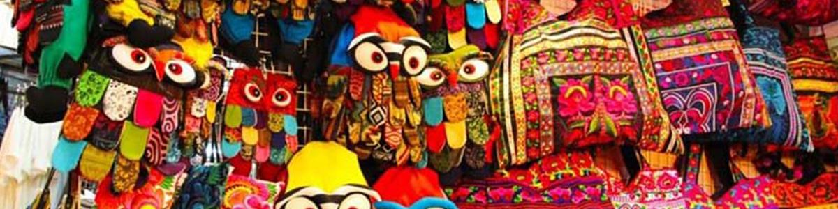 کیف هایی زیبا و رنگارنگ در شهر پاتایا