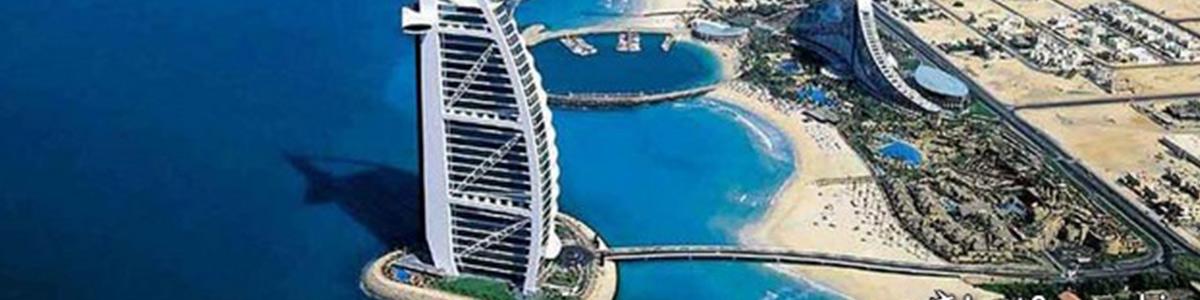 برجی زیبا و دیدنی در شهر دبی
