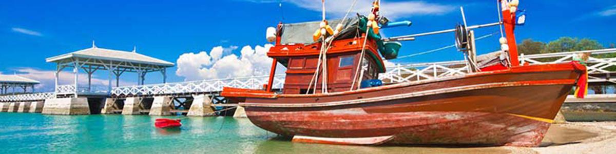 ساحل زیبای جامتین در پاتایا