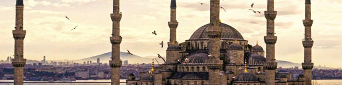 مسجدی زیبا و پرطرفدار در شهر استانبول