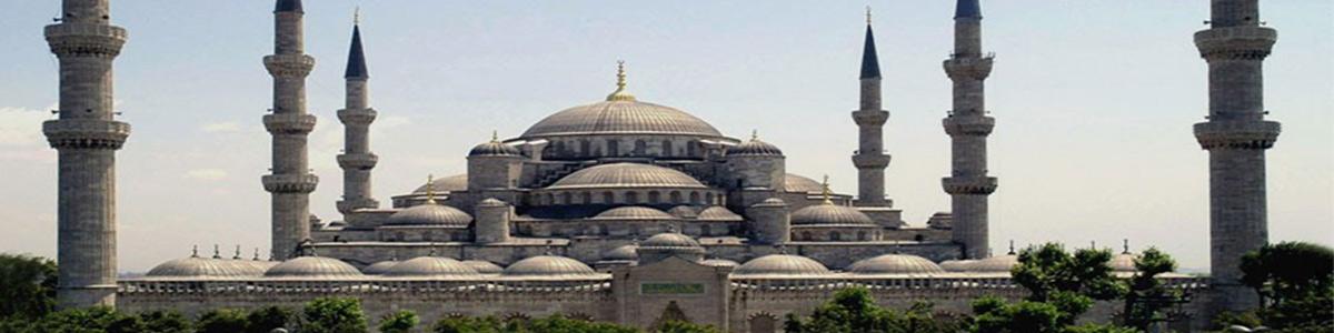 مسجدی زیبا در ترکیه