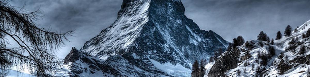 کوهی زیبا و فوق العاده و نمایی حیرت انگیز در سوئیس