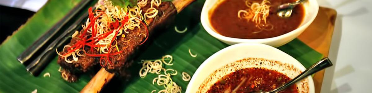 رستورانی با غذاهای لذیذ و خوش طعم