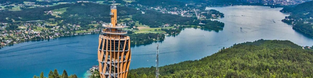 دریاچه ای زیبا در نقطه ای منحصر به فرد در کشور اتریش