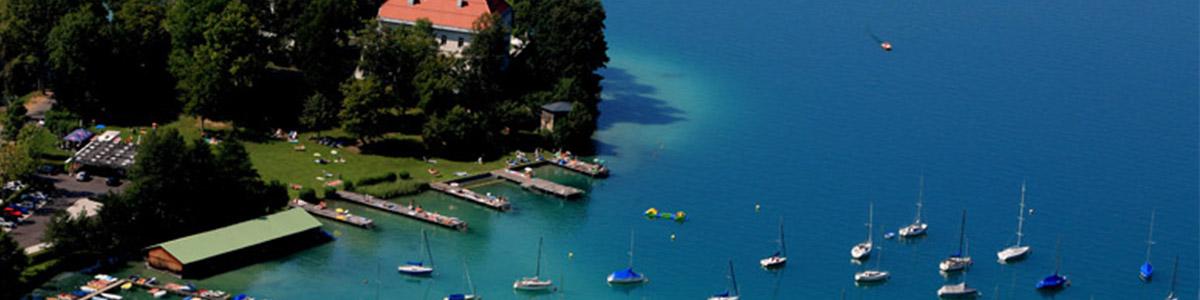 دریاچه ای پرطرفدار که از دیدنی ترین نقاط اتریش محسوب میشود .