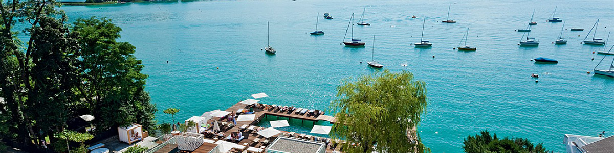 از زیباترین دریاچه های جهان در قلب کشور اتریش