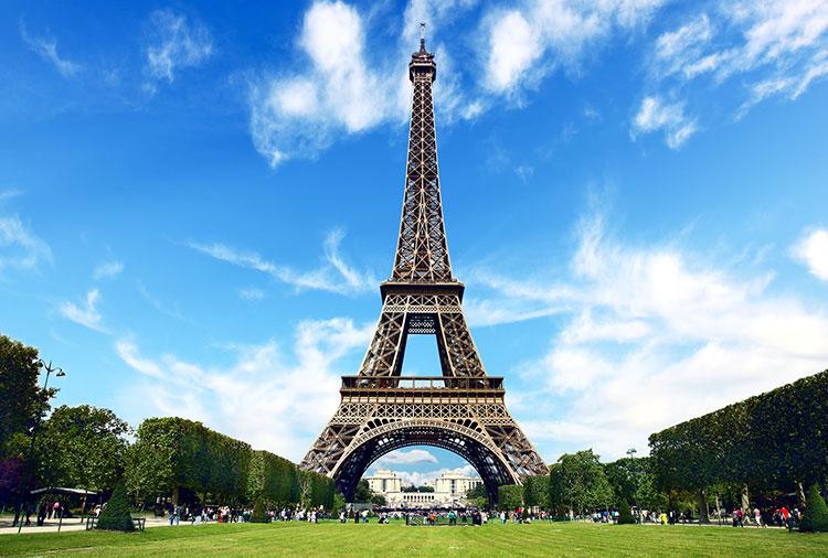 برج ایفل از محبوب ترین اماکن شهر پاریس