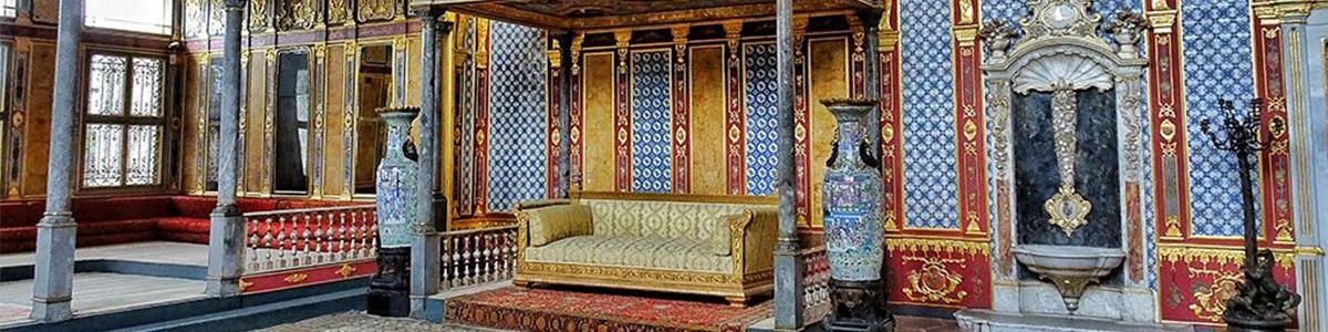 زیبایی های کاخ توپکاپی در شهر دیدنی استانبول