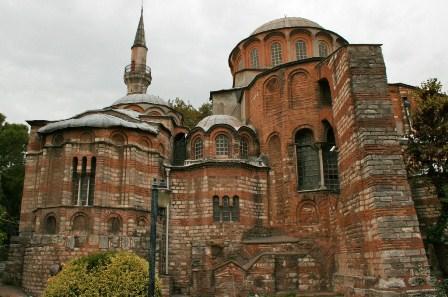 کلیسای چورا در شهر زیبای استانبول