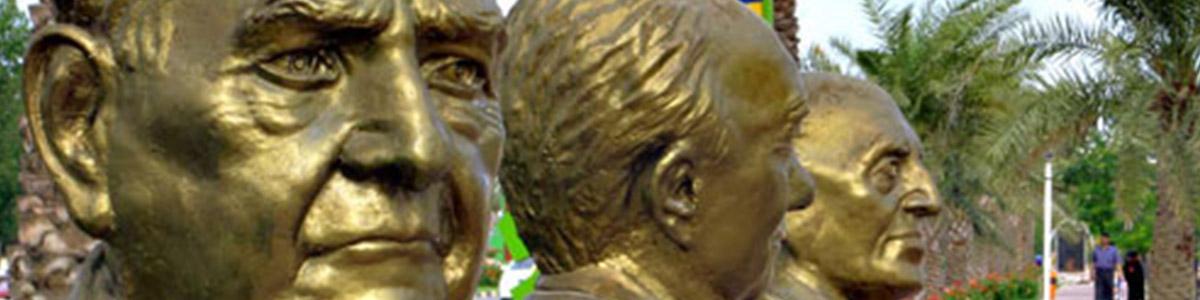 مجسمه ای زیبا در گذر هنرمندان در جزیره ی زیبای کیش