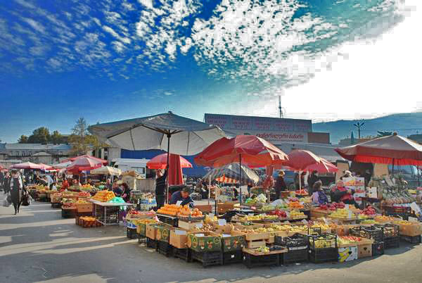 بازار لیلو گرجستان