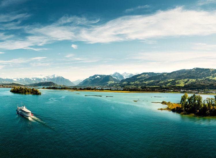 دریاچه زوریخ سوئیس در تور سوئیس