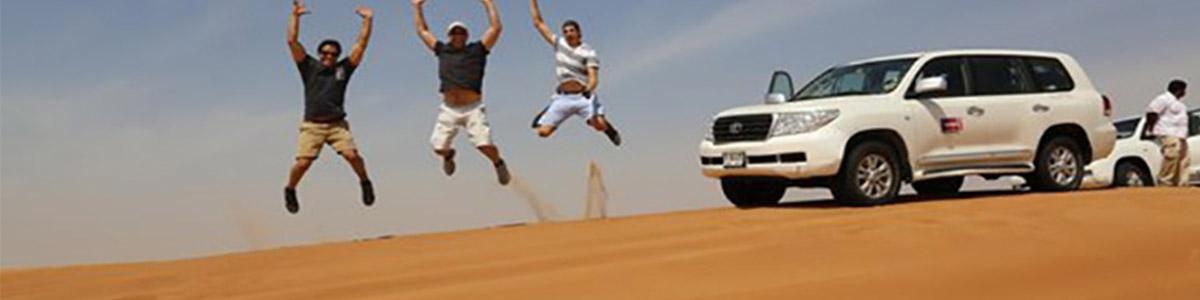 عکاسی در سافاری بیابانی دبی