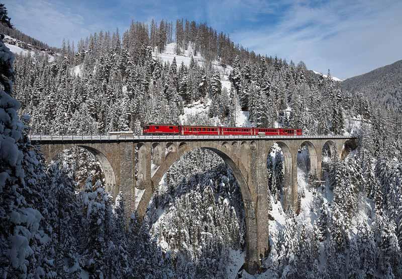 رشته کوه های آلپ در سوئیس