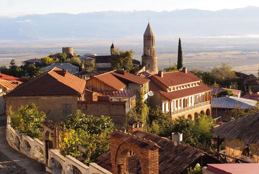 شهر سیقناقی در شهر تفلیس کشور گرجستان