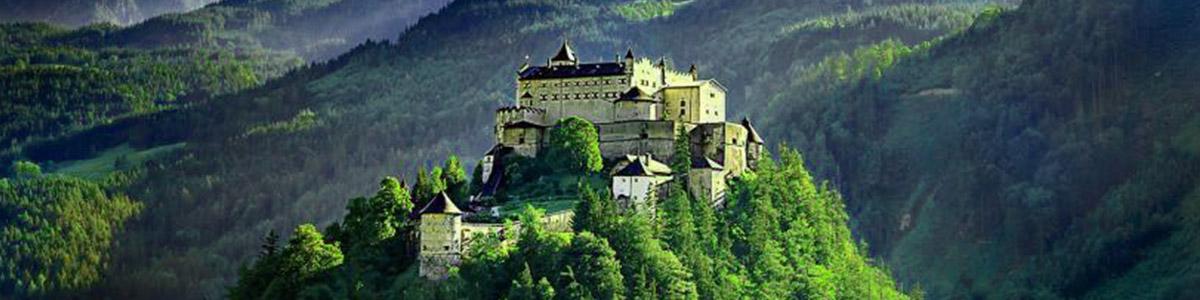 طبیعت بکر و دست نخورده ی کشور اتریش