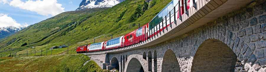 زیباترین منظره ها در سوئیس