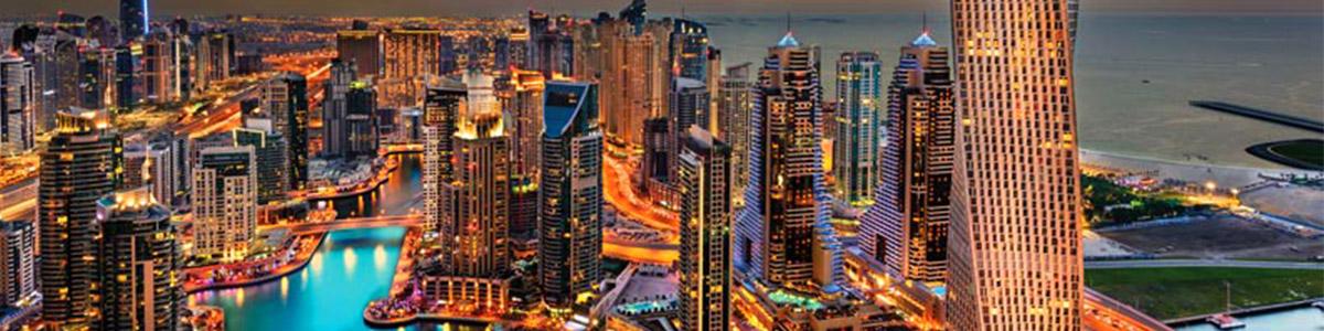نمایی زیبا و منحصر به فرد از شهر دیدنی دبی