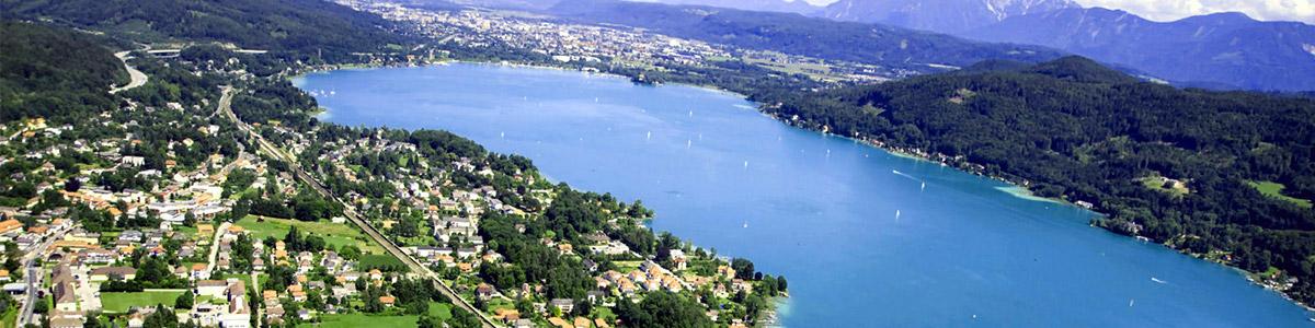 دریاچه ای زیبا و منحصر به فرد در کشور زیبای اتریش