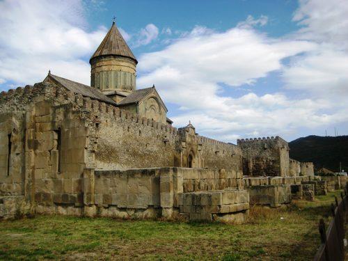 نارین قلعه از اماکن جذاب در شهر تفلیس گرجستان