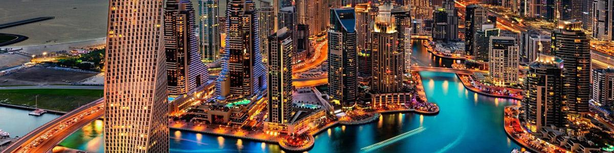 نهر فوق الهاده زیبا در شهر مفرح و گردشگری دبی