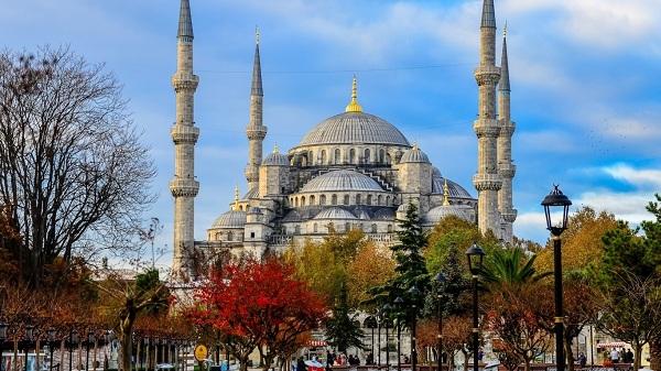 مسجد سلطان احمد در شهر زیبای استانبول