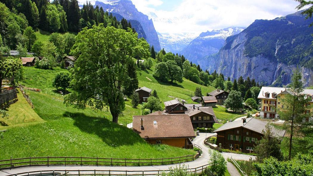 تیچینو در کشور رویایی سوئیس
