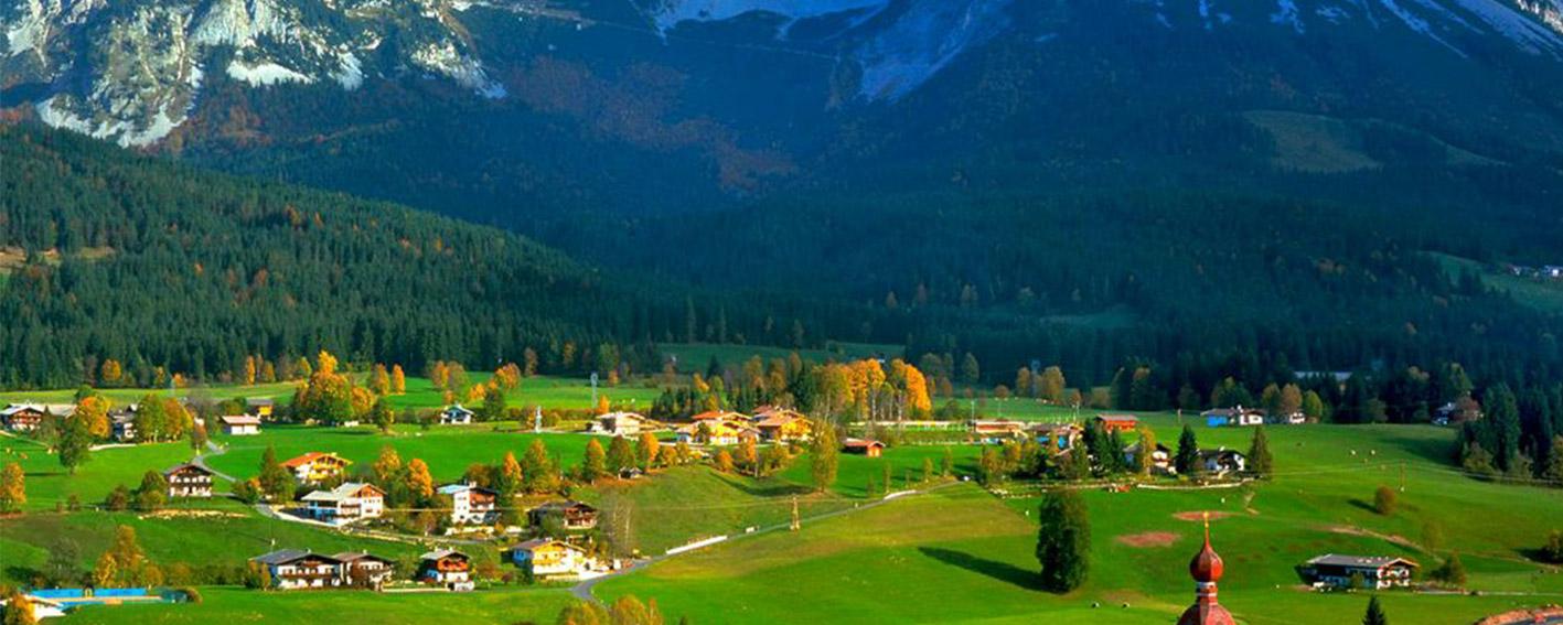 مکانی طبیعی و سرسبز در قلب کشور اتریش