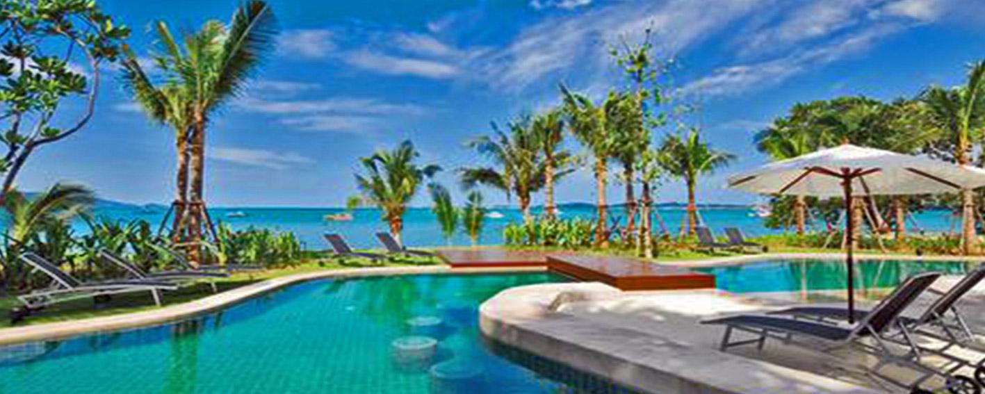نمایی لوکس و چشم نواز از هتل زیبای ساحلی بوفوت تایلند