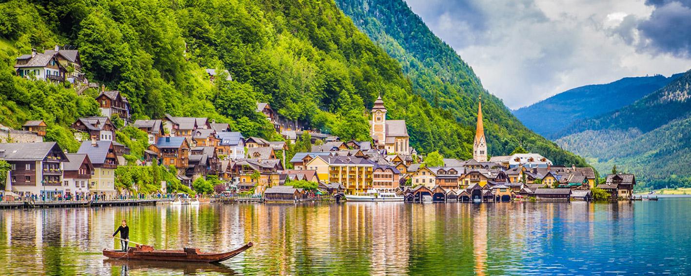 طبیعت بکر و دیدنی اتریش