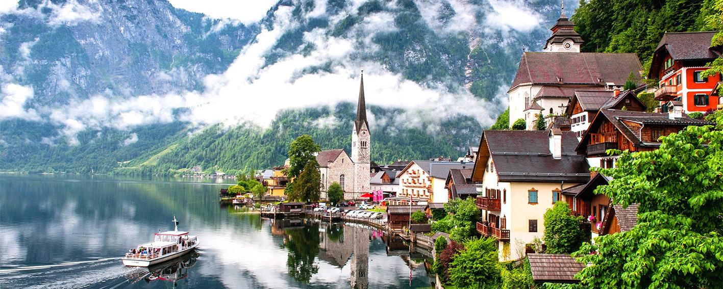 طبیعت بکر و دیدنی در کشور خارق العاده ی اتریش