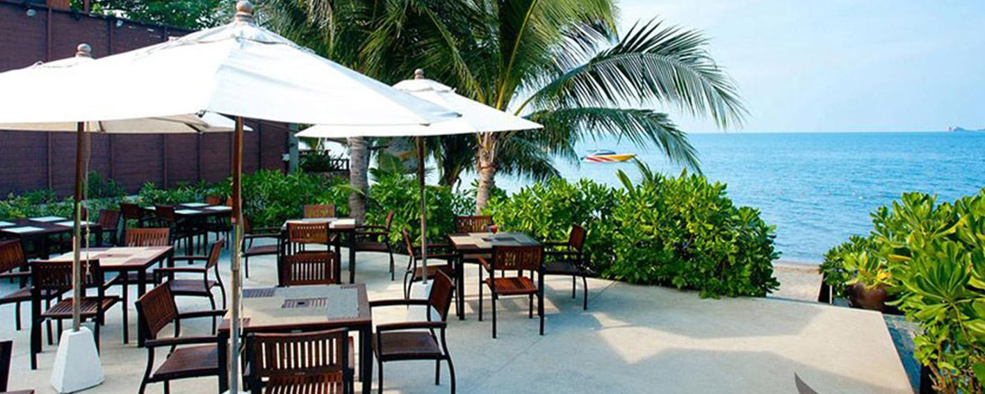 نمایی زیبا زا هتل ساحلی بوفوت تایلند